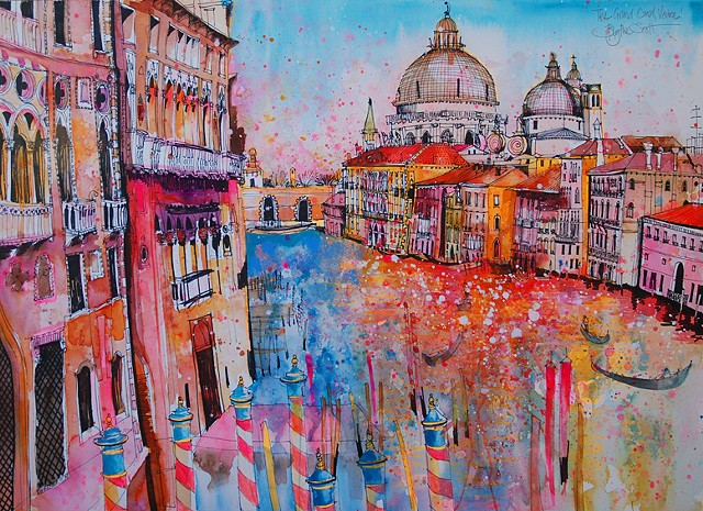'GRAND CANAL, VENICE' Sold