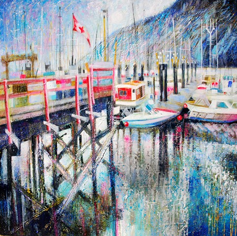'SUMMER BLUES, FORD'S COVE' Available