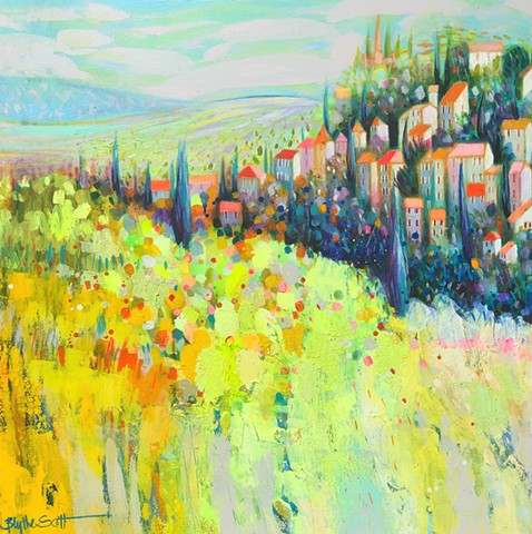 'BEYOND YELLOW' Sold