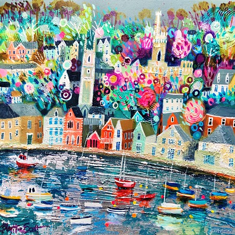 'FLOWERS AT FOWEY' Available