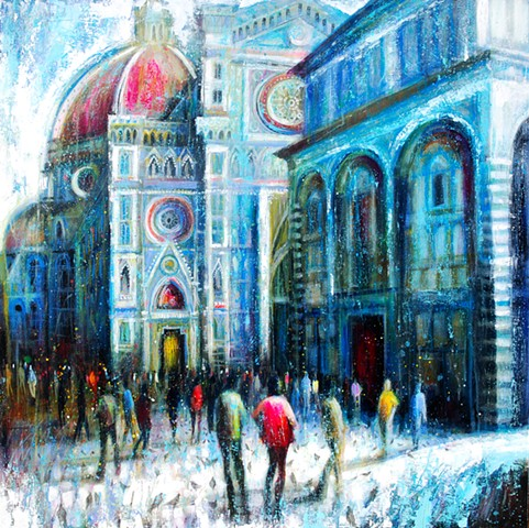 'FLORENTINE AFTERNOON' Available