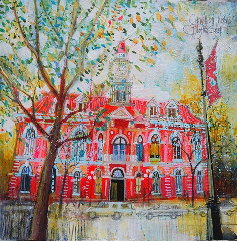 'CITY HALL, VICTORIA' Available