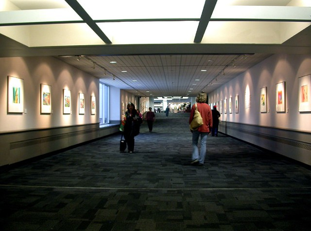 Installation at Cleveland International Airport 2005