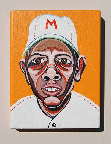 willie mays painting