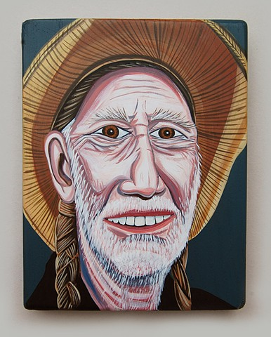Willie Nelson - front view