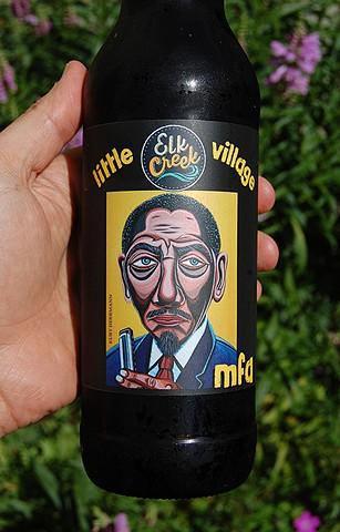 MFA beer label art