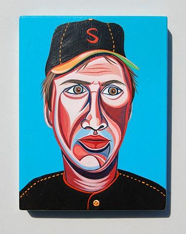 Tom Seaver painting