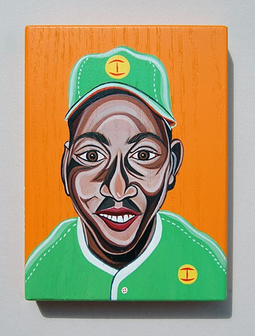 Monte Irvin painting