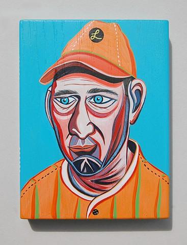 Bob Lemon painting