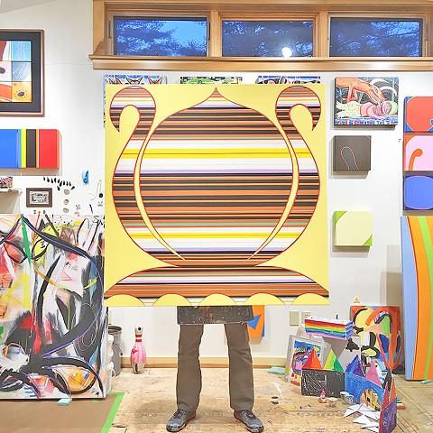 Mongo in studio