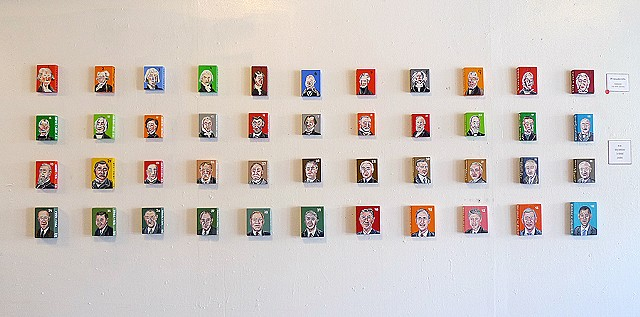 Presidents of the United States  No.1 - No. 44 Yard Dog Gallery 2013