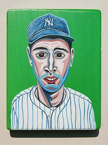 Joe Dimaggio painting