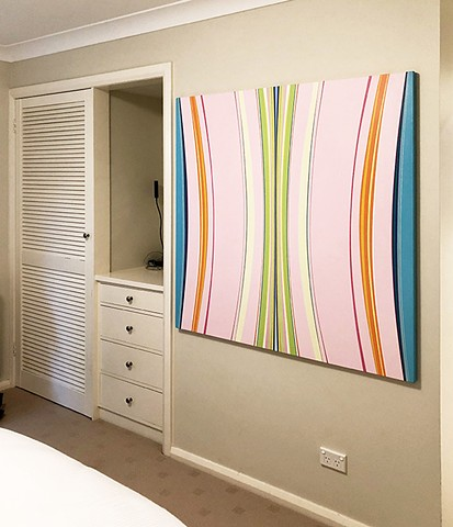 """Flamingo Bingo""  installed Sydney, Australia"
