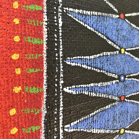 Khatchaturian Threads - detail