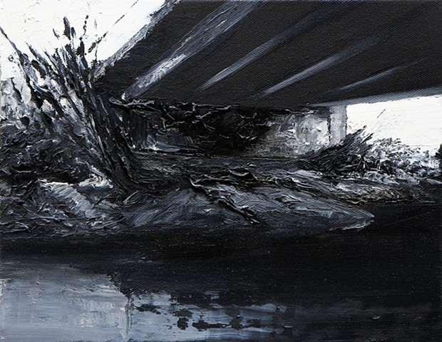 Under the Bridge XII, 20x25cm