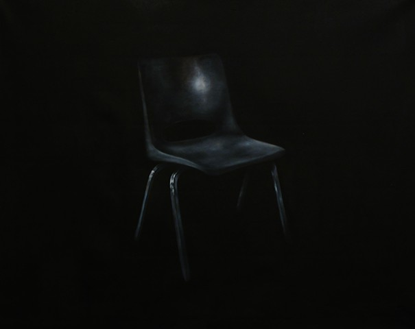 series contemporary art painting chair Kiefer Richter