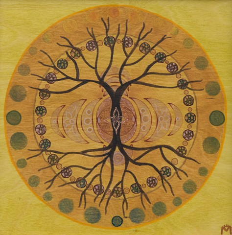 Tree Cycle Mandala