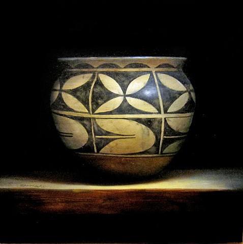 santa domingo (kewa) storage jar/SOLD