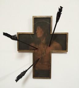 St Sebastian cross