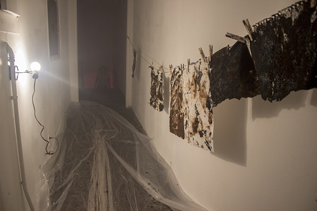 Painted Futures Apart of Dialectics of Isolation curated by Artemisa Clark