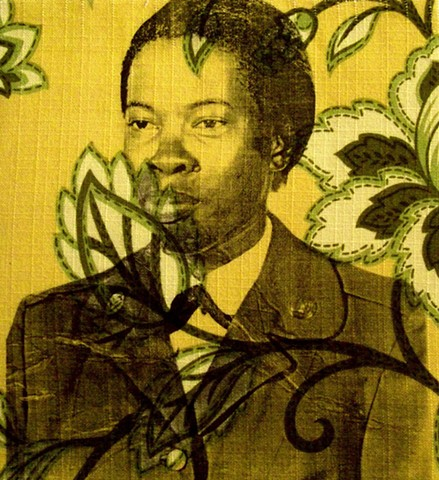 Shervone Neckles, military, storytelling, family history, artist books, wallpaper, flowers, identity, race, black artist, yellow wallpaper, charlotte perkins, Jamaica Kincaid, Grenada, Kitchen Area, Granny's Kitchen Area, Brooklyn Artist, Queens Artist, S