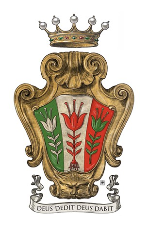 Coat of arms of the Italian noble family Zilia