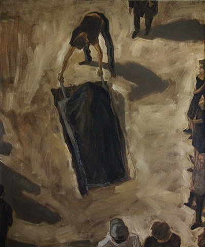 Burial in Arad