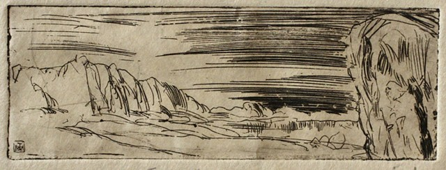 Landscape with a Rock (Sodom).