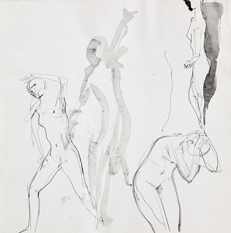 Nudes sketches