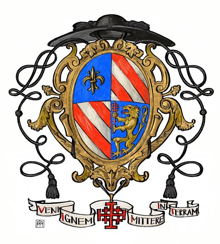 Arms of a Roman Catholic Priest