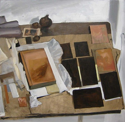 Still Life with Copper Plates