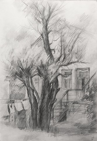Drawings from Loszyca, outside of Minsk