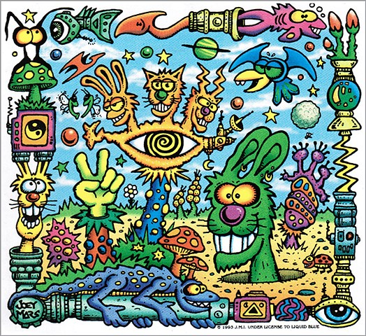 The Garden sticker by Joey Mars