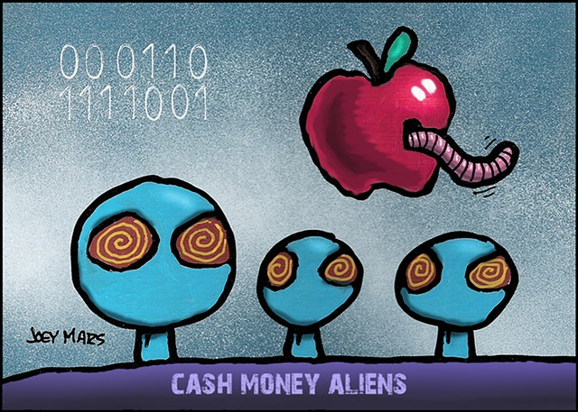 Cash Money Aliens #157
