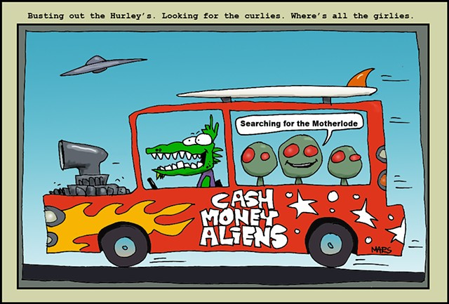 Cash Money Aliens #93