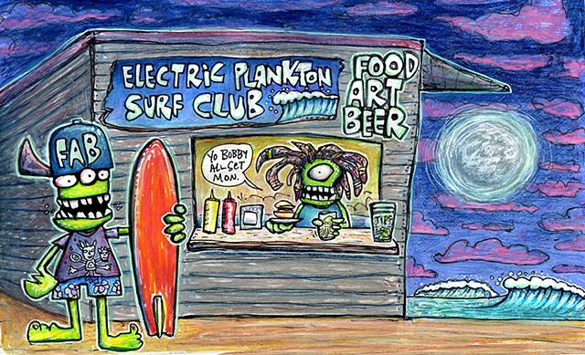 A Night at the Electric Plankton Surf Club