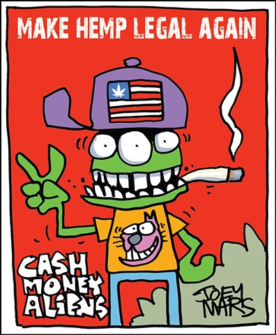 Cash Money Aliens #185