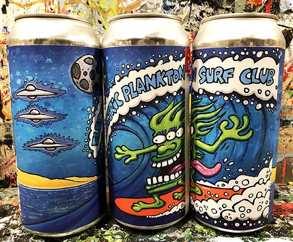 Electric Plankton Surf Club (3 cans)