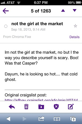 Craigslist Ad Reply
