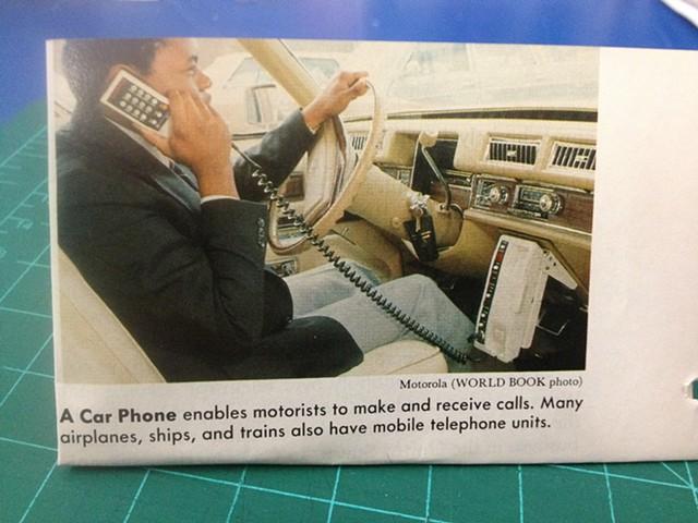 Car Phone Ad
