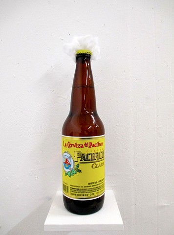 Tom Marioni as a Pacifico Bottle