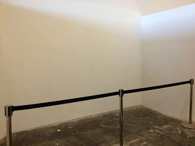 Erasing Sol LeWitt Wall Drawing 45A