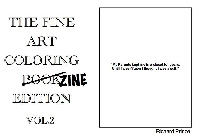 Coloring Zine 2