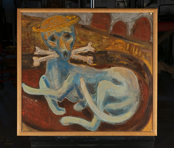 Blue Dog by Marianne Levy
