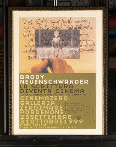 Poster featuring Brody Neuenschwander