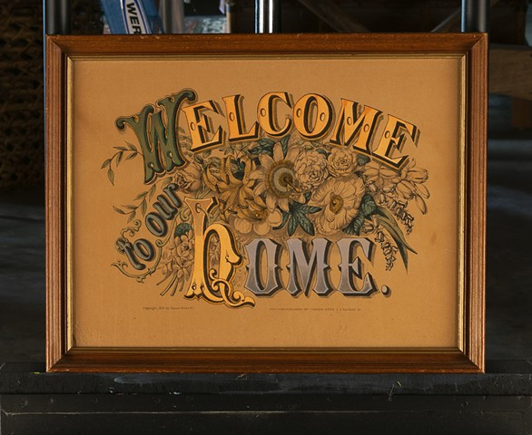 Welcome to Our Home by Courier and Ives