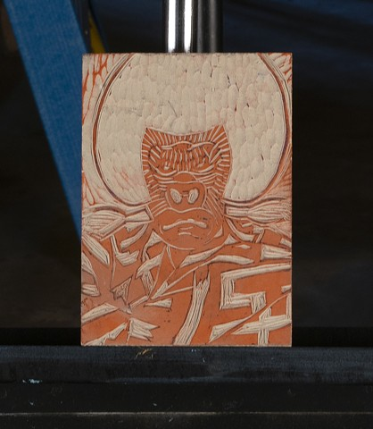 Kabuki Woodblock