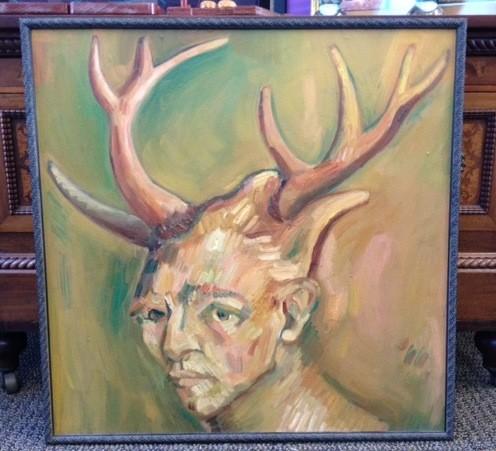 Van Gogh with Horns