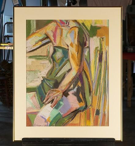 Pastel Figure by Caron LaMay