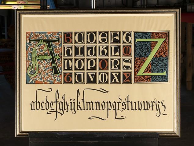Alphabet by Brody Nueunschwander
